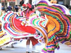 El Grito de Delores - Mexico's independence from Spain is September 16, 1810, not May 5th (Cinco de Mayo) which celebrates one battle in Mexico's war with France)