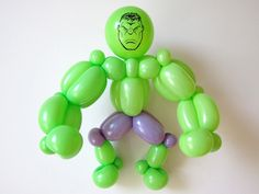 balloon art Williamsburg Brooklyn, Balloon Animals, Incredible Hulk, Balloons, The Incredibles, Sculpture, Children, Kids, Artist