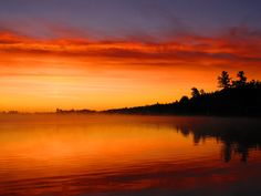 #LakeVermilion. Lake of the Sunset Glow. Photo by Paul Pollock
