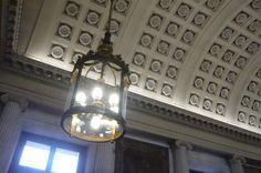 Barrel vault ceiling