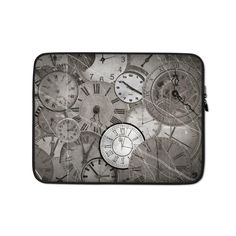 This lightweight, form-fitting Time 2798570 Laptop Sleeve is a must-have for any laptop owner on the go. To prevent any scratches, it contains a padded zipper binding and its interior is lined with faux fur. Hat Embroidery Machine, Poly Bags, Sleeve Designs, Laptop Case, Order Prints, Laptop Sleeves, Biodegradable Products, Faux Fur