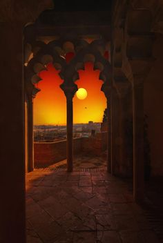 Visions from the Alcazaba, Málaga, Spain. http://www.costatropicalevents.com/en/costa-tropical-events/andalusia/cities/malaga.html