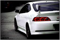 Acura rsx white type s type r honda dsx