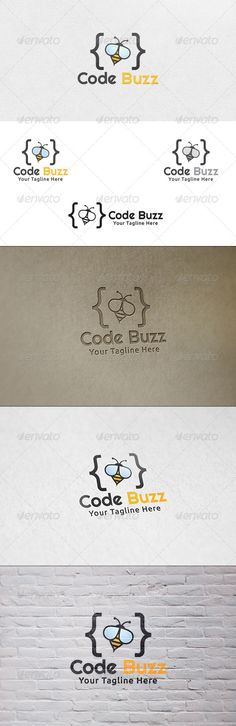 Code Buzz - Logo Template