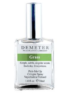 I always loved the smell of fresh cut grass!