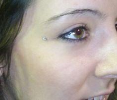 Dermal Piercing so cute! I want one soon!
