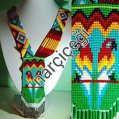Bead Loom Patterns, Beading Patterns, Crochet Patterns, Beaded Jewelry, Beaded Necklace, Beaded Bracelets, Collar Indio, Beaded Animals, Loom Beading