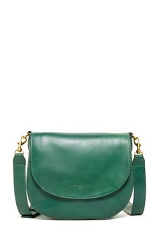 Faith Glossy Genuine Leather Crossbody by Liebeskind Berlin on @nordstrom_rack