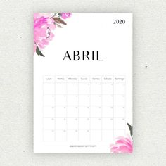 Calendario para imprimir 2020 - Papelería para Imprimir Bullet Journal Printables, Bullet Journal School, Bullet Journal Inspo, Diy Agenda, Study Board, Diy Gifts For Him, Calendar 2020, Hama Beads, Wicca