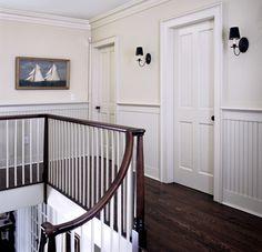 Hallway beadboarding