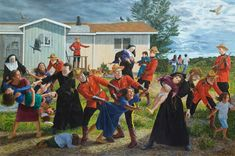 Kent Monkman knew that, for Canada 150, he had to speak directly to the colonial, genocidal policies that have marked the country's history.