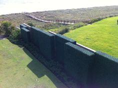 Faux Boxwood Monolith Hedge - modern - garden sculptures - jacksonville - Garden Room Landscape Design, Inc.