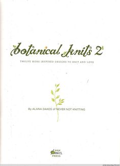 Botanical Knits 2 - 在夏郁中冬眠 - 〓 北纬①度★南洋小岛 〓