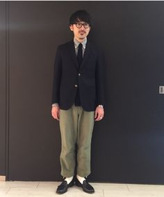 B:MING by BEAMS(27611) スタイリング・コーディネイト|BEAMS Boy Fashion, Mens Fashion, Ivy Style, Navy Blue Blazer, Suit Shop, Street Snap, Business Fashion, Blazer Jacket, Menswear