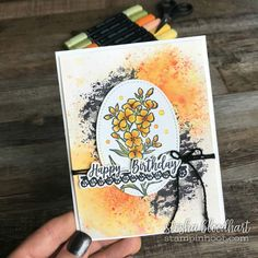 Southern Serenade Stamp Set by Stampin' Up! From the 2018 Occasions Catalog for GDP126 Sketch Challenge. Card designed and created by Stesha Bloodhart, Stampin' Hoot! #steshabloodhart #stampinhoot Southern Serenade for GDP126! Happy Monday Everyone! Today the Global Design Project