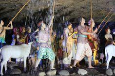 Krishna and Govardhan parvat - null