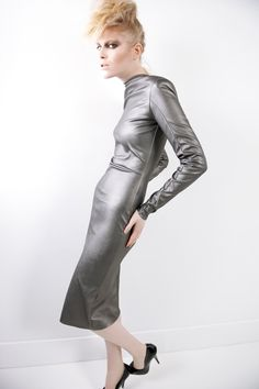 Autumn Winter 2013 collection by Sylvio Giardina.  NOT BEAUTIFUL, WOULD YOU WANT YOUR DAUGHTER TO LOOK LIKE THIS