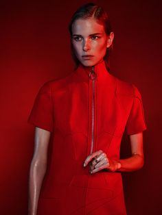 fashion editorials, shows, campaigns & more!: lina berg by john scarisbrick for harper's bazaar germany september 2015 Red Fashion, World Of Fashion, Fashion Models, Fashion Beauty, Fashion Tips, Fashion History, Latest Fashion, Fashion Photography Inspiration, Style Inspiration