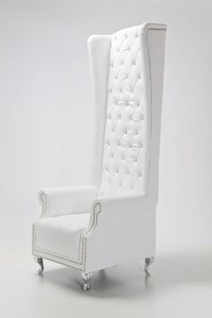 Křeslo Queen White - 1