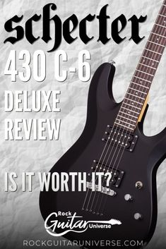 If you are looking to buy a new guitar, you might have thought of Schecter. But is the company good? Are their models worth the money? Specifically, is C-6 a decent guitar in its price range? There are a couple of questions you might ask, and getting a new instrument is never easy. One of the options you might want to consider is Schecter 430 C-6 Deluxe. It is the first entry-level guitar that bears the Diamond name, and it is a great guitar. #guitar #electricguitar #review Guitar Sheet Music, Guitar Amp, Acoustic Guitar, Indie Music, Folk Music, Guitar Songs For Beginners, Guitar Reviews, Types Of Guitar, Schecter