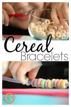Preschool Activities: Cheerios Bracelet