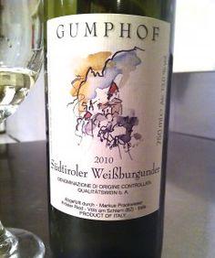 2010 Gumphof Weissburgunder Wine of the Week on eatsomethingsexy.com October 10, 2013