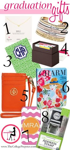 http://fashion881.blogspot.com - We love the College Prepster! This bloggers picks for graduation gifts.