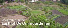 Inspirerende moestuinen: De Ommuurde Tuin - Historische, moderne en wilde groenten