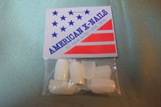 Beauty Art American X-Nails 20 Assorted Nail Tips New bnip square tip #BeautyArt