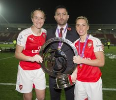 Congratulations Arsenal Ladies on winning the Continental Cup.