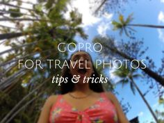 Step by step guide: How to use a gopro for better travel photos. Using a GoPro for travel photos made easy and simple. Gopro Photography, Travel Photography, Photography Ideas, Photography Articles, Photography Lessons, Outdoor Photography, World Of Wanderlust, Gopro Camera, Camera Tips