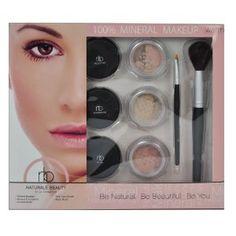 Naturale Beauty Mineral Face Makeup Set, Warm Edition --- http://www.amazon.com/Naturale-Beauty-Mineral-Makeup-Edition/dp/B004GHEEVY/?tag=pinterest1061-20