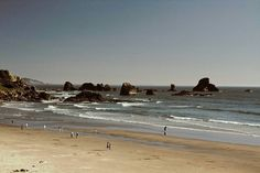 The Oregon Coast is an expanse of uninterrupted public land a unique attribute since the Beach Bill of 1967. This declaration ended any capitalistic ambitions of commodification of this natural landform and was a victory against the imaginary of private property rights.