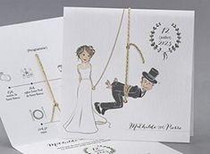Faire-part de mariage M43-001