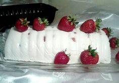 Cakes And More, Biscotti, Sushi, Strawberry, Food And Drink, Pudding, Baking, Fruit, Ethnic Recipes