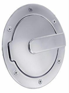 All Sales Race Style Billet Fuel Dr 7 Ring O.D. 5 1-8 Door O.D.-Chrome