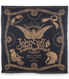 Johnson Motors Inc - Navy Bandana