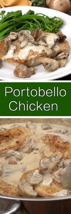 Portobello chicken