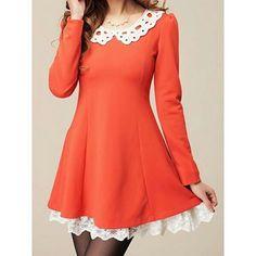 SKU: NWE3MUJ9TG05V76 Colors: Jacinth, Navy. Size: S, XL. Price: US$37.12 | PKR 4200 Category: Women->Dresses->Women… #Vivoren #Fashion