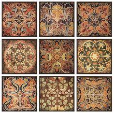 Tuscan Wall Panels - Set of 9 - Wall Sculptures - Wall Decor - Home Decor | HomeDecorators.com