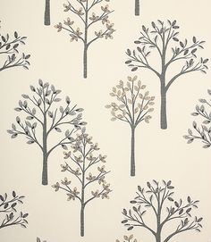 Pretty fabric with a contemporary design of trees on it. Made from 100% cotton. A great curtain material, also useful for blinds and cushions. Buy this fabric online or from one of our curtain fabric shops in Burford and Cheltenham. Why not take advantage of our online ordering service and have your curtains and blinds professionally made in our workroom.