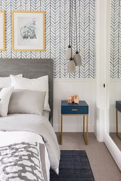 When Tamera Mowry reached out to us to help with a Jack + Jill Room Design for her kids, its safe to say we were a little star struck! I mean what kid that grew