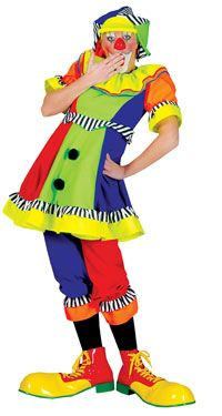 Ladies Spanky Stripes Clown