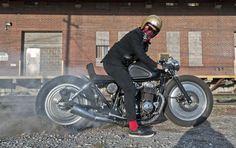 "HELL ON WHEELS: Honda CB750 ""Punk'D"" by Marco Luk"