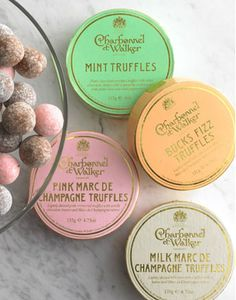 Chocolate truffles from Charbonnel et Walker