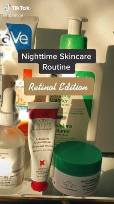 Nighttime Anti Aging Skincare Routine