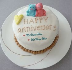 marriage anniversary images with name Marriage Anniversary Cake, Anniversary Wishes For Parents, Happy Wedding Anniversary Wishes, Happy Anniversary Cakes, Anniversary Pictures, Cake Writing, Cake Name, Sister Friends, Brother Sister