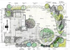 A similar layout to our existing space if the house ran along it horizontally. A nice place to start for planning how to divide it up.