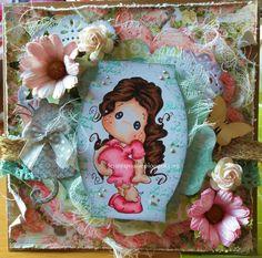 Je suis fan de ces petits tampons adorables que sont les Magnolias et... de…
