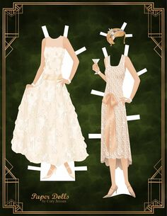 the great gatsby | paper dolls by cory